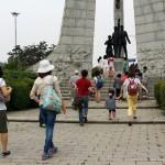 2014年6月1日(日)、日帰り修養会。ここは、韓国キリスト教100周年記念塔。宣教師が初めて上陸した所です。