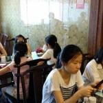 2014年6月1日(日)、日帰り修養会。中華街の中華料理!!