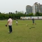 2014年6月1日(日)、日帰り修養会。松都(ソンド)子ども公園。飛びましたねー。