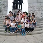 2014年6月1日(日)、日帰り修養会。韓国キリスト教100周年記念塔。