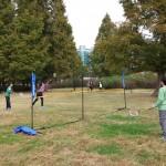 2014年10月26日(日)、日帰り修養会。一山(イルサン)湖水公園。ネットは持参。