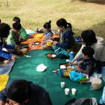 2014年10月26日(日)、日帰り修養会。一山(イルサン)湖水公園。お弁当~。
