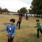 2014年10月26日(日)、日帰り修養会。一山(イルサン)湖水公園。野球もしました。