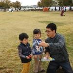 2014年10月26日(日)、日帰り修養会。一山(イルサン)湖水公園。宝探しの賞品選び。