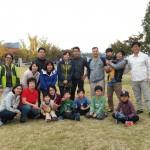 2014年10月26日(日)、日帰り修養会。一山(イルサン)湖水公園。