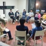 2015年5月3~4日(土日)、1泊の修養会。みことばの家。1日目の集会。