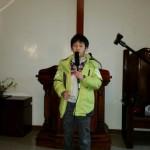 16年12月25日(日)、クリスマス祝会。暗唱聖句。
