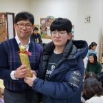 18年2月25日(日)、ユンノリ大会(韓国すごろく)。今年は商品も出て、盛り上がりました^^