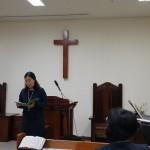 19年4月28日、浅草橋教会の姉妹の特別賛美。