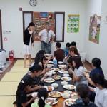 19年8月4日、いつもの昼食。