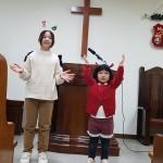 19年12月22日、クリスマス祝会のCS賛美。